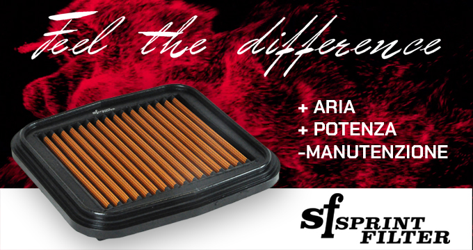 Sprint filter - filtro aria in poliestere