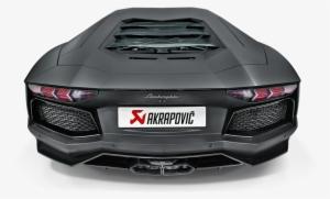 scarico Akrapovič per la Lamborghini Aventador